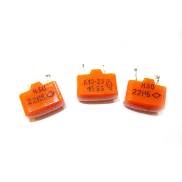 Конденсаторы К10-17;23;43 (Пластмассовый корпус)