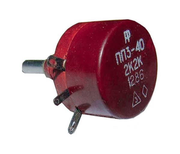 Резистор ПП3