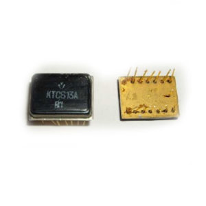 Микросхемы КТС 613 (желтое дно)