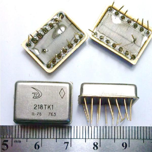 Микросхемы 218 и подобные (залитая подложка)