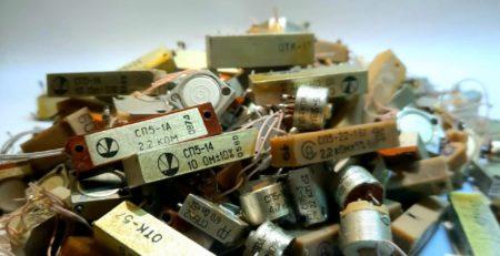 Советские резисторы СП5