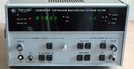 Генератор Г4-158