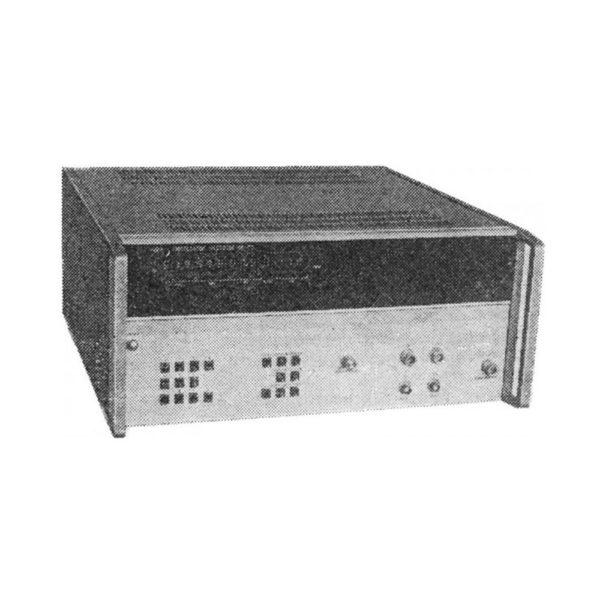 Синтезатор частоты Ч6-72